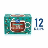 Kroger® 100% Colombian Medium Dark Roast Coffee K-Cup Pods 12 Count