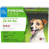 Pet Pride™ Fipronil Flea & Tick Squeeze-On for Dogs 23-44 lbs