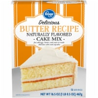 Kroger® Delicious Butter Recipe Cake Mix