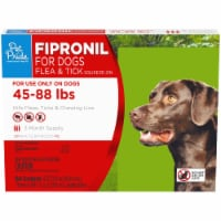 Pet Pride™ Fipronil Flea & Tick Squeeze-On for Dogs 45-88 lbs