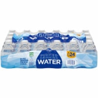 Kroger® Purified Water Mini 24 Bottles