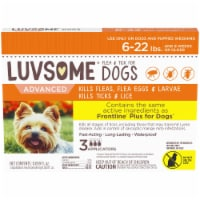 Luvsome™ Advanced Flea & Tick Applicators for Dogs and Puppies 6-22 lbs