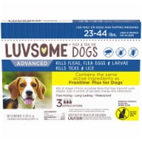 Luvsome™ Advanced Flea & Tick Applicators for Dogs and Puppies 23-44 lbs