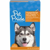 Pet Pride® Chopped Burger with Cheddar Cheese Flavor Adult Dry Dog Food