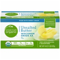 Simple Truth Organic™ Unsalted Butter