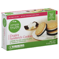 Simple Truth® Duplex Sandwich Creme Cookies