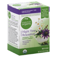 Simple Truth Organic™ Night Time Relaxation Herbal Tea 16 Count