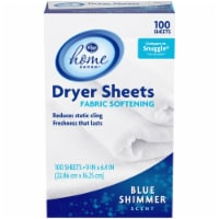 Kroger® Home Sense® Blue Shimmer Scent Fabric Softening Dryer Sheets 100 Count