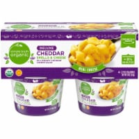 Simple Truth Organic® Deluxe Cheddar Shells & Cheese Bowls