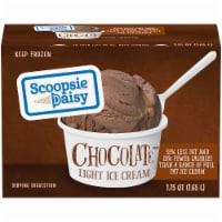 Scoopsie Daisy Chocolate Light Ice Cream - 56 fl oz