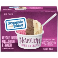 Scoopsie Daisy Neapolitan Light Ice Cream