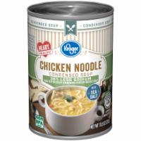 Kroger® Reduced Sodium Chicken Noodle Condensed Soup