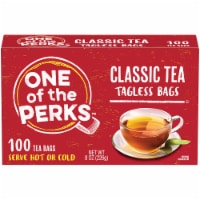 One of the Perks™ Classic Tagless Tea Bags
