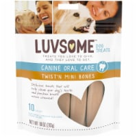 Luvsome™ Twist'n Mini Bones Small-Medium Size Dog Treats