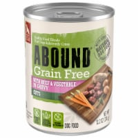 Abound™ Grain Free Beef & Vegetable Cuts in Gravy Wet Dog Food