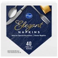 Kroger® Nice & Elegant Dinner Napkins