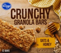 Kroger® Crunchy Granola Bars - Oats & Honey