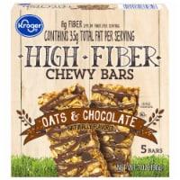 Kroger® Oats & Chocolate High Fiber Chewy Bars