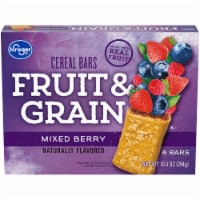 Kroger® Fruit & Grain Mixed Berry Cereal Bars