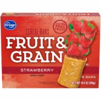 Kroger® Fruit & Grain Strawberry Cereal Bars