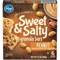 Kroger® Sweet & Salty Peanut Granola Bars 6 Count