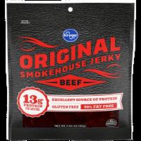 Kroger Original Beef Smokehouse Jerky