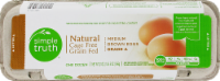 Simple Truth™ Natural Cage Free Grade A Medium Brown Eggs