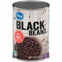 Kroger® No Salt Added Black Beans - 15.25 oz