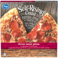 Kroger® Self Rising Crust Three Meat Pizza