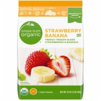 Simple Truth Organic® Frozen Sliced Strawberries & Bananas