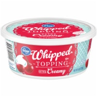 Kroger® Extra Creamy Whipped Topping Tub