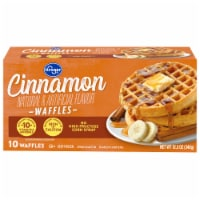 Kroger®  Cinnamon Waffles 10 ct