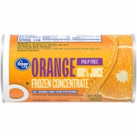 Kroger® Frozen 100% Pulp Free Orange Juice Concentrate