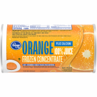 Kroger® Frozen 100% Orange Juice Plus Calcium Concentrate