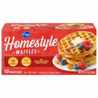 Kroger® Homestyle Waffles 10 Count