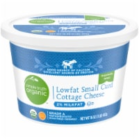 Simple Truth Organic™ 2% Milkfat Lowfat Small Curd Cottage Cheese