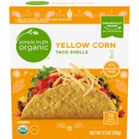 Simple Truth Organic™ Yellow Corn Taco Shells 12 Count