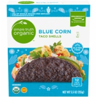Simple Truth Organic™ Blue Corn Taco Shells 12 Count