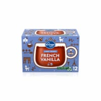 Kroger® Light Roast French Vanilla Coffee K-Cup Pods 12 Count