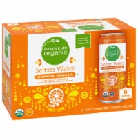 Simple Truth Organic™ Orange Vanilla Seltzer Water