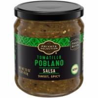 Private Selection™ Medium Tomatillo Poblano Salsa