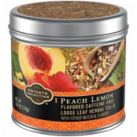 Private Selection™ Peach Lemon Loose Leaf Herbal Tea