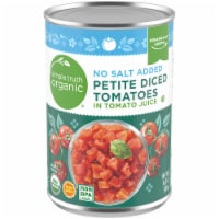 Simple Truth Organic™ No Salt Added Petite Diced Tomatoes