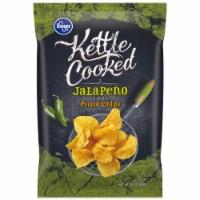 Kroger® Kettle Cooked Jalapeno Flavored Potato Chips - 8.5 oz