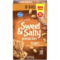 Kroger® Sweet & Salty Peanut Granola Bars 18 ct