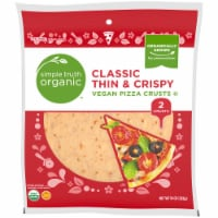 Simple Truth Organic™ Classic Thin & Crispy Vegan Pizza Crusts 2 Count