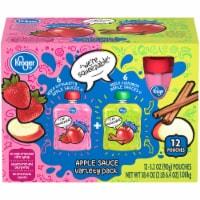 Kroger® Apple Cinnamon & Apple Strawberry Apple Sauce Variety Pack