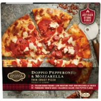 Private Selection™ Doppio Pepperoni & Mozzarella Thin Crust Pizza