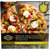 Private Selection™ French Goat Cheese & Marinated Vegetable Thin Crust Pizza