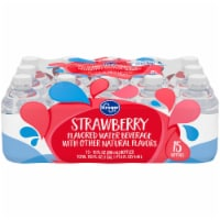 Kroger® Stawberry Flavored Water 15 Bottles